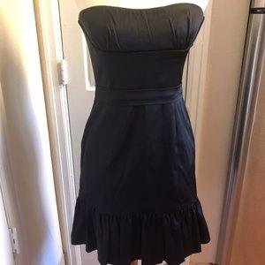 New BCBG MAXAZRIA Black Strapless Size 8